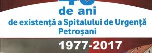 Simpozionul 40 de ani de existență a Spitalului de Urgență din Petroșani